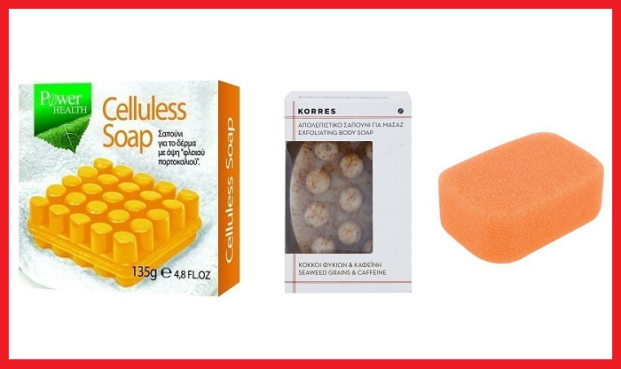 Κάντε μασάζ με το κατάλληλο προϊόν, σφουγγάρι, σαπούνι, ή κρέμα, για την αντιμετώπιση της κυτταρίτιδας.